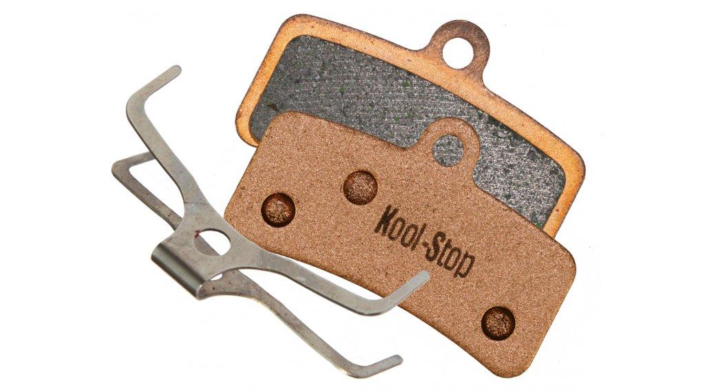 Kool-Stop Disc-Bremsbeläge Shimano Saint 4-Kolben M810 Kupfer-Gesintert