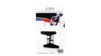 KOOL STOP CITY NON-THREADED 53mm BLACK BRAKE PADS