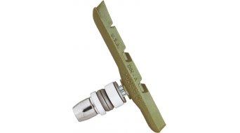 Kool-Stop V-Brake Bremsklötze Gewinde Thinline Ceramic Compound grün