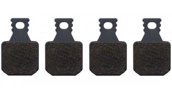 Magura Спирачна накладка, 8.P за с-Дискова спирачка, 4 бутало вкл. винт/ове за регулиране на спирачни накладки (4 Einzelнакладки/парчета)- Performance