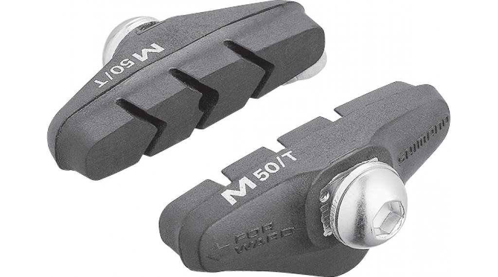 Shimano road bike brake shoes M50T for BR-4400 (pair )