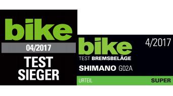 Shimano Disc Bremsbeläge G02A Resin für XTR, XT, SLX, Alfine