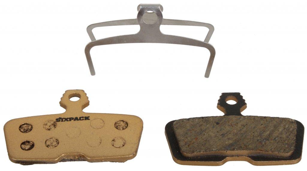 Sixpack SEMI-METALLIC Bremsbelag AVID CodeR and Code (>11)