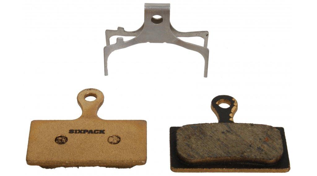 Sixpack SEMI-METALLIC Bremsbelag SHIMANO XTR,XT,SLX (IcetechR® compatible)