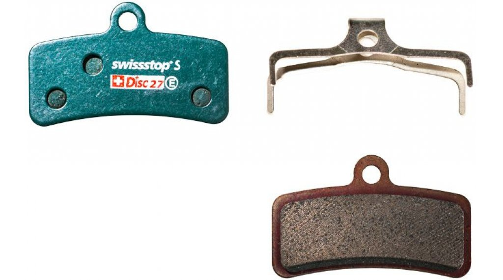 SwissStop Disc27S Scheiben-Bremsbeläge Sintered Shimano Saint BR-M810/820, Zee, TRP Quadiem/SL