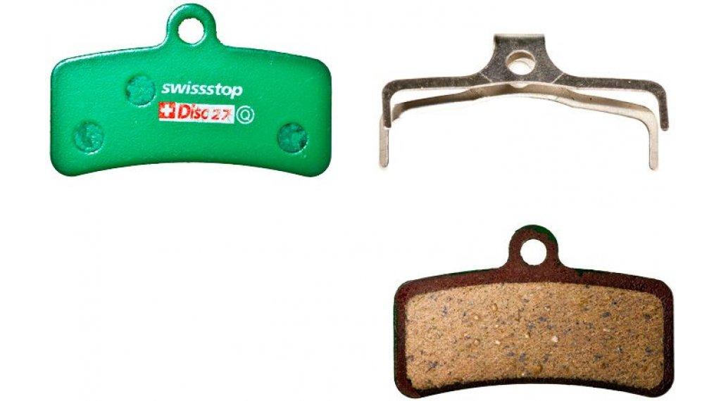 SwissStop Disc27 Scheiben-Bremsbeläge Organic Shimano Saint BR-M810/820, Zee, Trp Quadiem/SL
