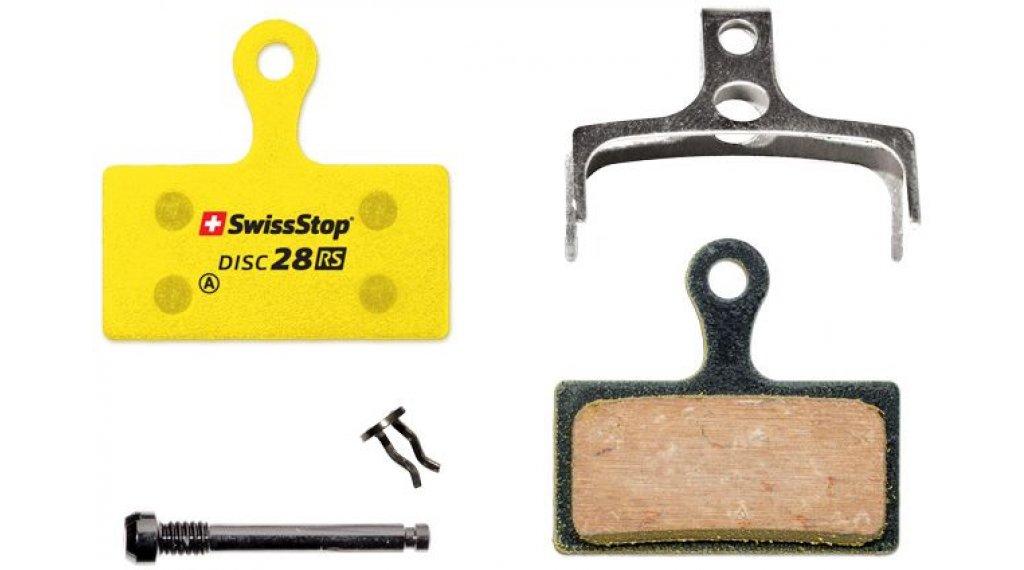 SwissStop Disc28RS Scheiben-Bremsbeläge Race Ready Shimano XTR M985, XT M785, SLX M675, Deore M615, FSA