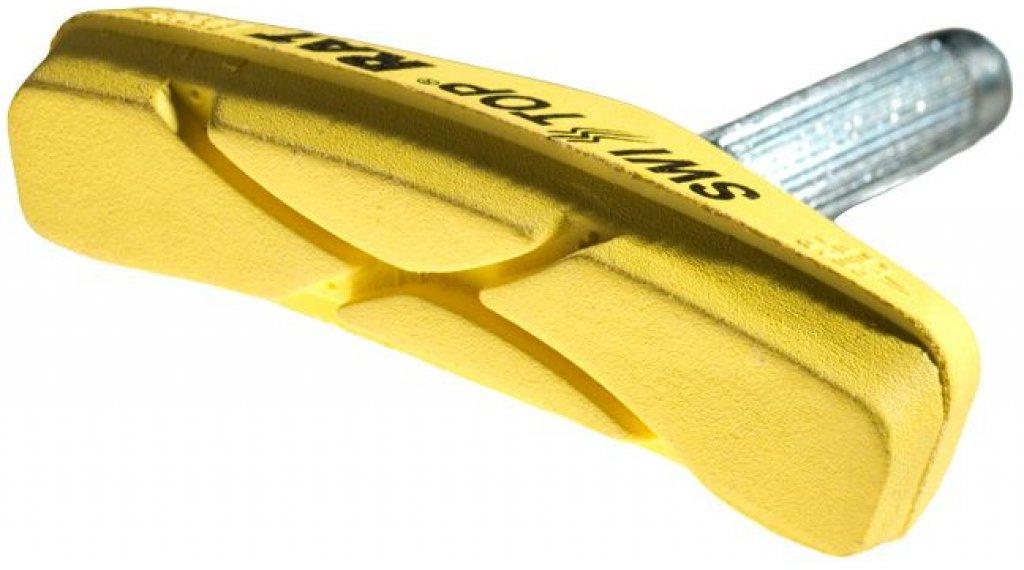 SwissStop Felgen Bremsbeläge Rat Yellow King Cantileverbrakes für Carbon-Felgen yellow