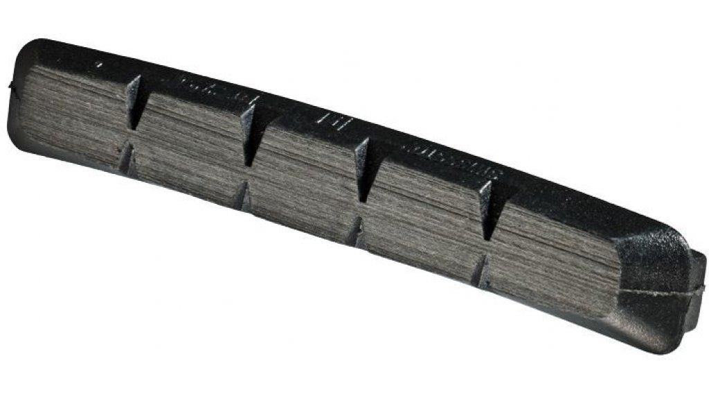 SwissStop Felgen Bremsbeläge RX Plus Original Black Shimano/Avid für Alu-Felgen (4 Stk.) black