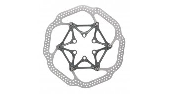Avid HSX disco de freno 140mm 6 agujeros (IS2000) (incl. tornillos de titanio) (Embalaje RETAIL) gris