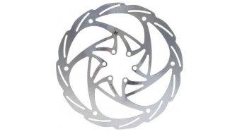 Formula Monolitic Bremsscheibe 6-Loch einteilig silver