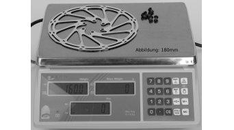 SRAM Centerline 140mm attacco 6 fori (IS2000) disco in 1 pezzo/i