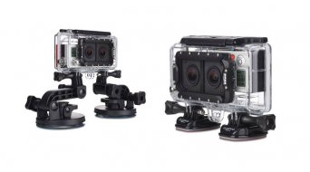 GoPro HD HERO 3+ negro Dual HERO sistema