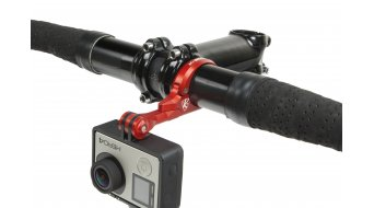 K-Edge Go Big Pro H-Bar Mount Lenkerhalterung 31.8mm red