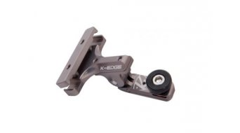 K-Edge Go Big Pro 1/4-20 Saddlehalterung gunmetal