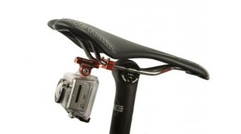 K-Edge GoPro Pro Saddle Rail Halterung red