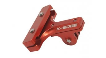 K-Edge GoPro Pro Saddle Rail attacco red