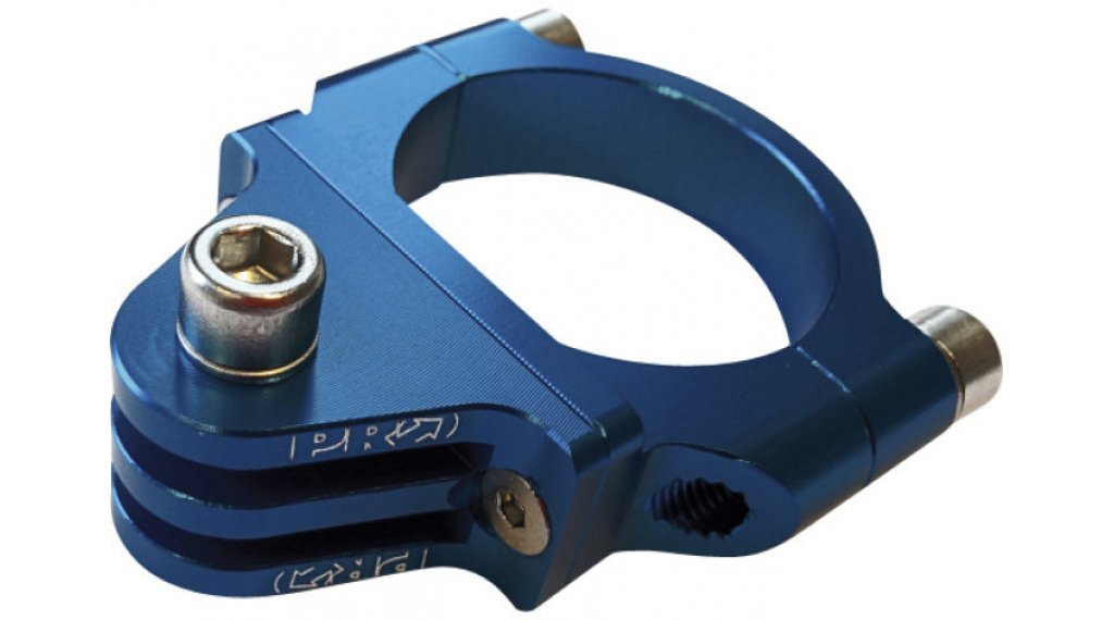 PRO Kamerahalterung für Lenkermontage 31.8mm blau