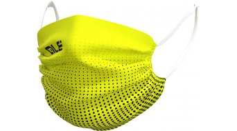 Alé Dots Face Mask face protection size  unisize  black/fluo yellow
