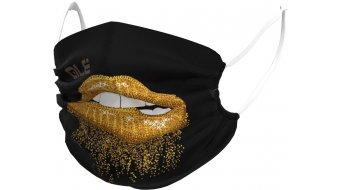 Alé Lips Защитна маска за нос и уста, един размер, черно/злато