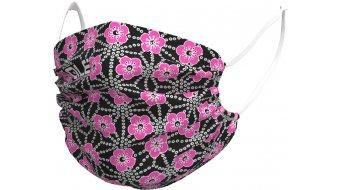 Alé Garda Детска Защитна маска за нос и уста, един размер, черно/fluo pink