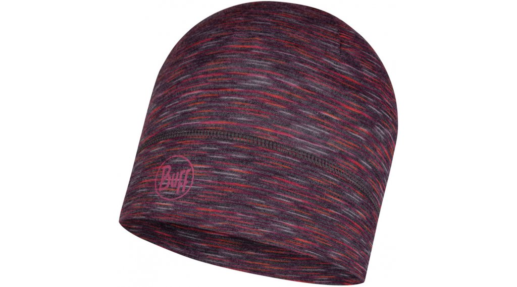 Buff® Lightweight Merino Wool Funktionsmütze Gr. unisize shale grey multi stripes