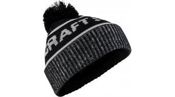 Craft Core Retro Logo Knit Hat Mütze Gr. unisize black/white - MUSTERKOLLEKTION