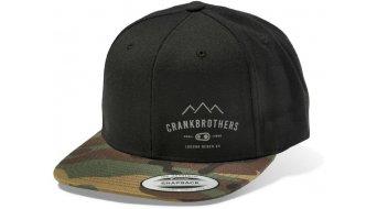 CrankBrothers Snap Back čepice univerzální velikost black/camo