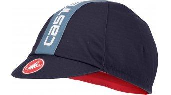 Castelli Retro 3 Cap čepice univerzální velikost dark/steel blue