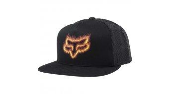 Fox Flame Head Snapback Kappe Herren Gr. unisize black/orange