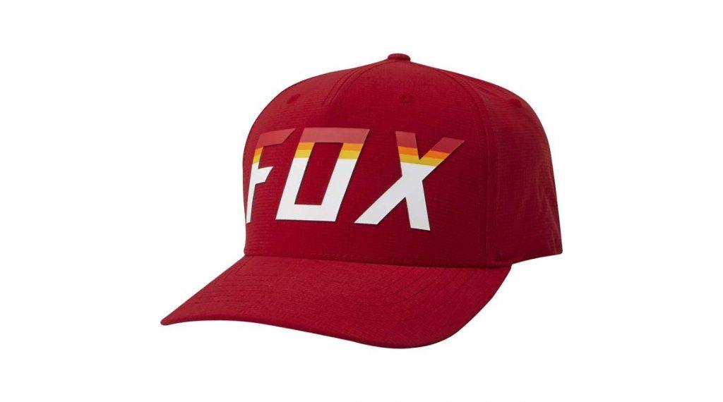 Fox On Deck Flexfit Kappe Herren Gr. S/M chili