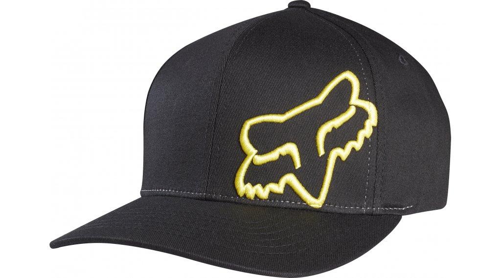 Fox Flex 45 Flexfit 帽 男士 型号 L/XL black/yellow