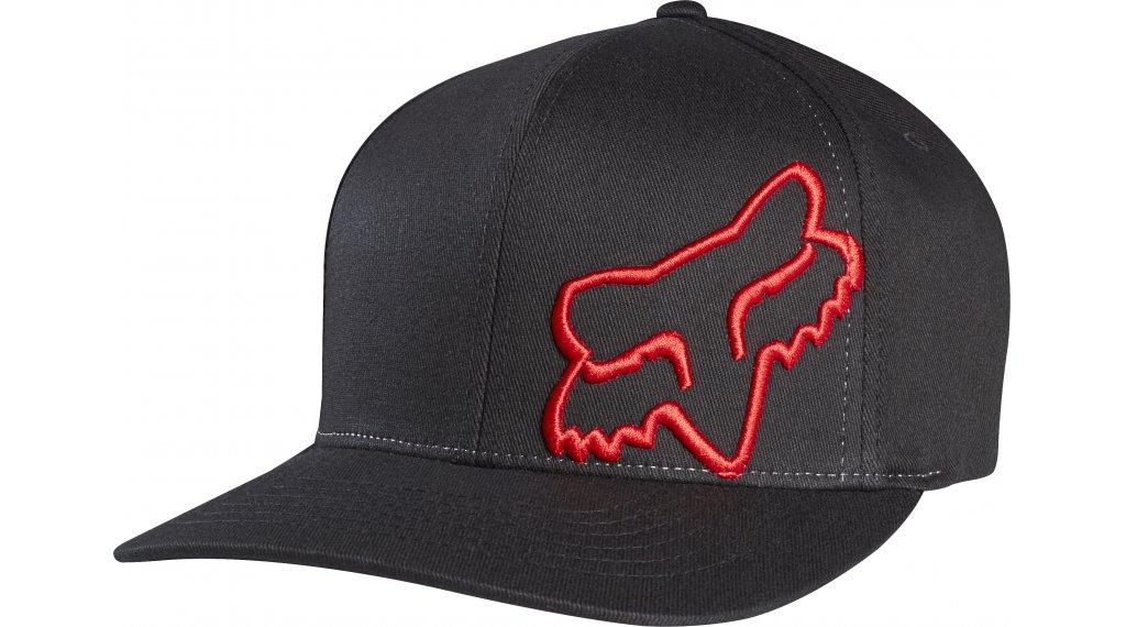 Fox Flex 45 Flexfit 帽 男士 型号 S/M black/red