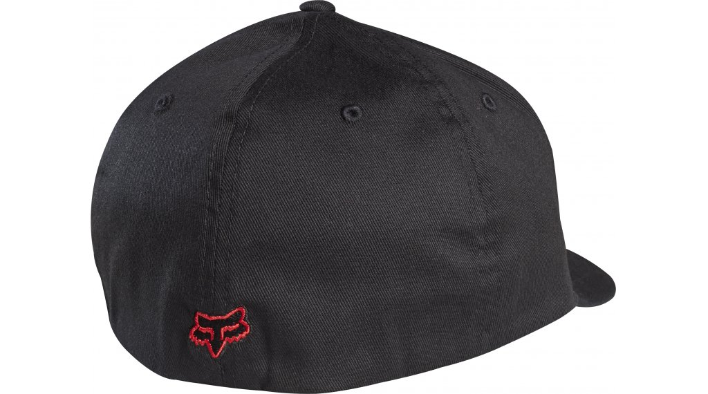 Fox Racing Cap Hat Legacy Flexfit Hat Black//Red S//M 58225-017