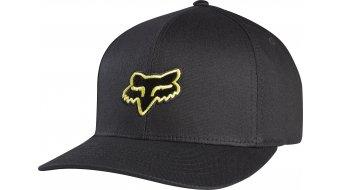 Fox Legacy Flexfit Hat gorro(-a) Caballeros tamaño S/M negro/amarillo