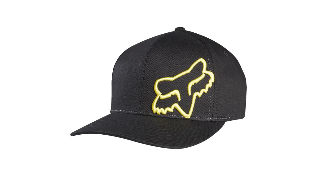 Fox Flex 45 Flexfit 帽 男士 型号 XXL black/yellow