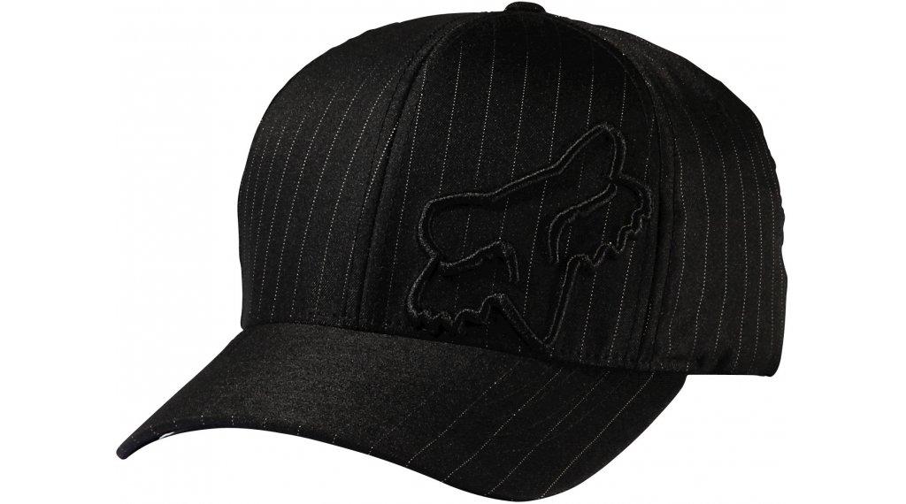 Fox Flex 45 帽 男士-帽 Flexfit Hat 型号 S/M black pinstripe