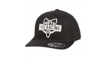 FOX Flathead 110 Snapback cap men unisize black/white