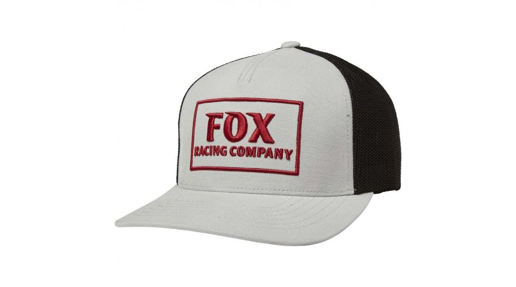 FOX Heater Snapback cap men unisize steel grey
