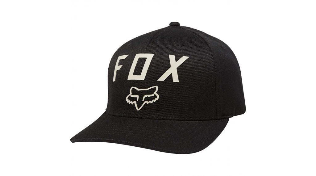 FOX Number 2 Flexfit cap men size L/XL black