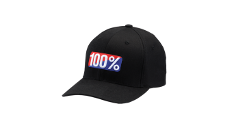 100% OG Flexfit Kappe black