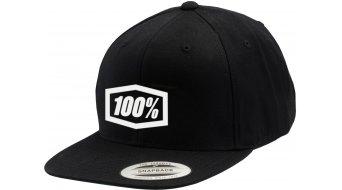 100% Corpo Snapback cap unisize black