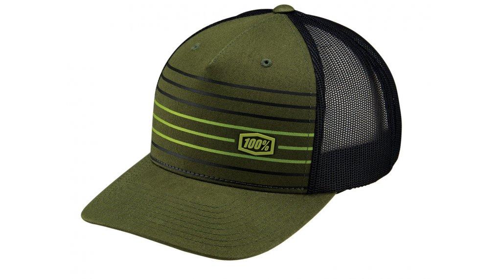100% Insurgent Snapback cap unisize fatigue