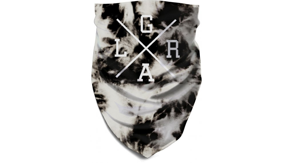 Loose Riders Electric Tiedye Multifunktionstuch Gr. unisize white/black