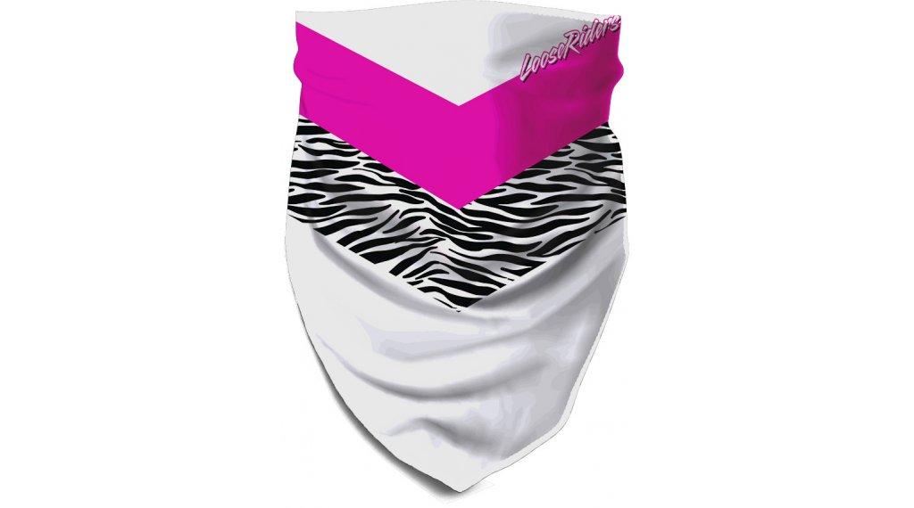 Loose Riders Ski Patrol Multifunktionstuch Gr. unisize white/pink