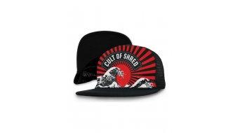 Loose Riders Rising Sun cap unisize black/red