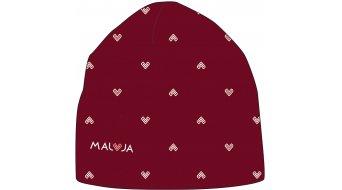Maloja SassaunaM. Beanie Gr. unisize red monk heart - MUSTERKOLLEKTION