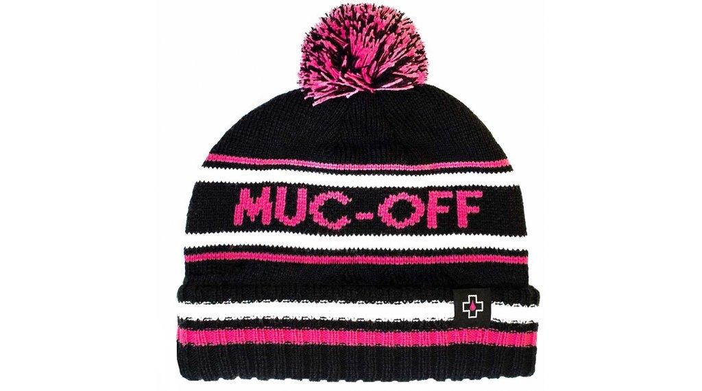 Muc-Off Bubble Beanie Gr. unisize black/pink