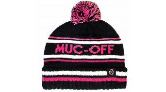 Muc-Off Bubble Beanie Gr. unisize black/pink