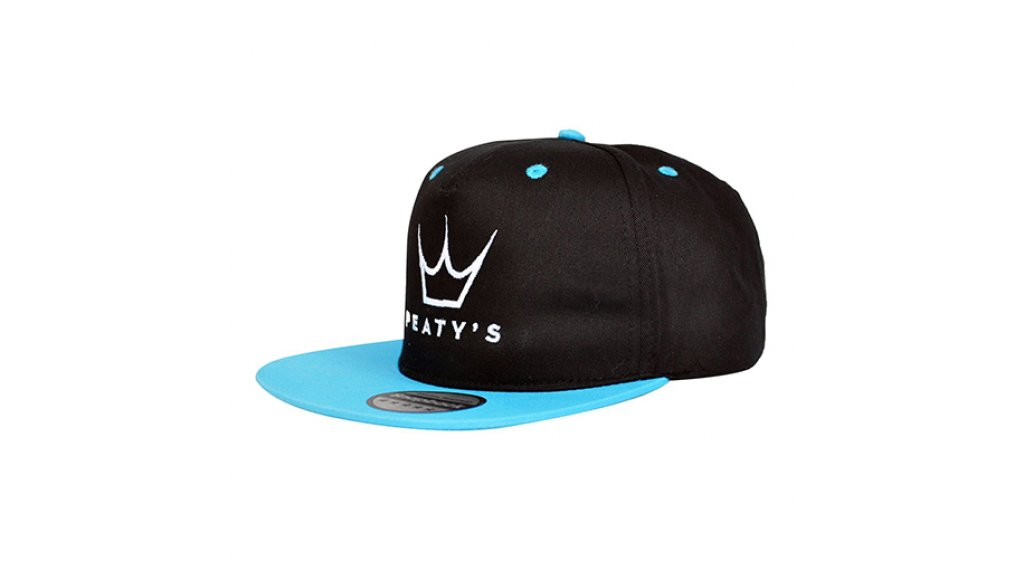 Peatys Embroidered Hat unisize schwarz/blau